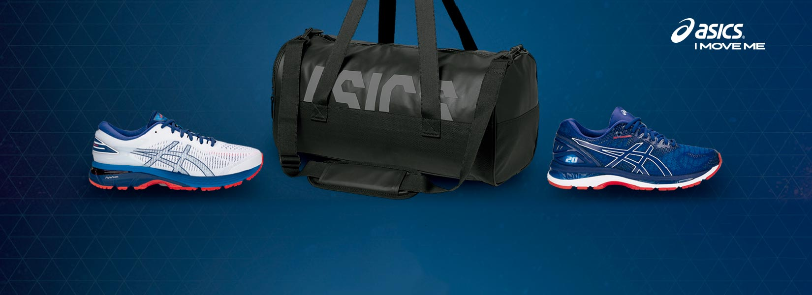 Recive a free Asics bag